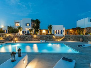 Villa Iris 5bed(sea/Pool view)in Ag Lazaros Mykonos