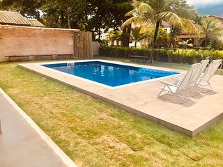 Brand New Comfortable House with Swimming Pool and Barbecue Kiosk
