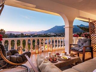 Spacious villa in Marbella with Parking, Internet, Washing machine, Air conditio