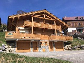 Chalet AULP DE SUZ La Clusaz, calme et vue montagnes - Wifi gratuit