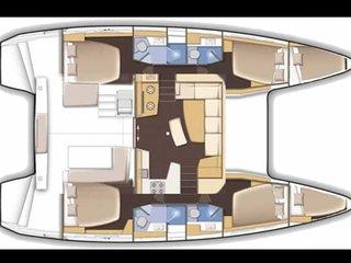 Catamaran privatisé avec vue sur mer