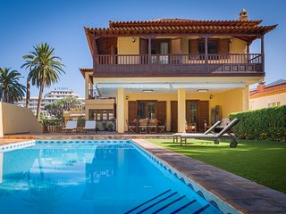 Villa Limonero Luxury Private - Heatable Pool, BBQ, central... Puerto de la Cruz