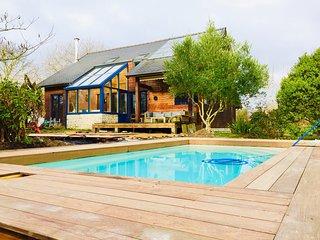 LE CABANON BRETON*** - Ecogîte avec piscine près de ST-MALO, MONT-ST-MICHEL