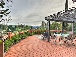 Santa Rosa Home w/Spectacular Views, Near Wineries