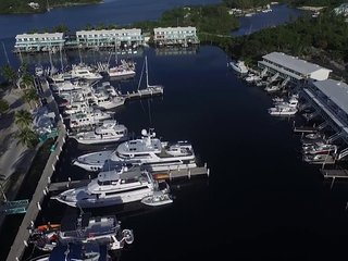 New and now available, updated marina villa located on Great Harbor Cay