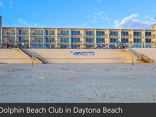 Daytona Beach Studio with Beach Front View
