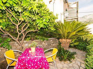 Cozy apartment in the center of Podgora with Parking, Internet, Washing machine,