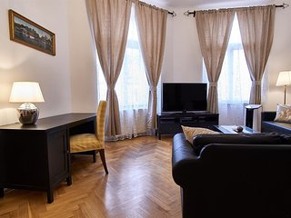 Spacious apartment in the center of Prague with Internet, Washing machine, Air c