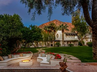 5 STAR UNIQUE VILLA ON 1.2 ACRE ESTATE AT CAMELBACK MOUNTAIN PHOENIX /SCOTTSDALE