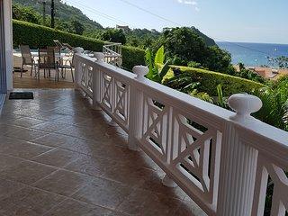 Casa Vista -  2 bedroom Apartment located in Marigot Bay, Castries, St.Lucia