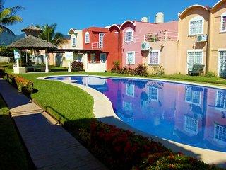 Acapulco Diamante | Fracc Las Garzas | Casa con alberca cerca de playa