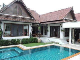 Villa Baan BOO. Koh Samui. Tropical dream villa with pool.A family favourite.