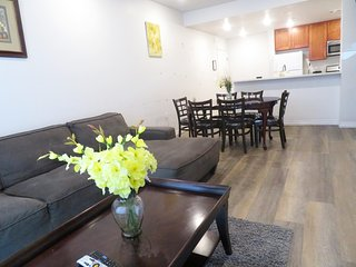 3 Bed/2 Bath Private Unit w/ Large Sofa & Full Kitchen (S35)