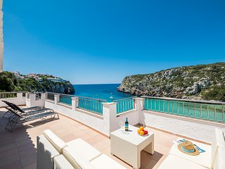 "Seductive house on the beach in Cala""n Porter, Menorca"