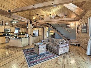 NEW! White River Cabin w/Decks, Game Room & Views!