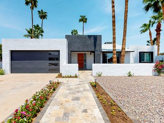 Colorful and modern home with private pool and large back patio!