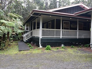 Lovely Cottage in a native Ohia Forest