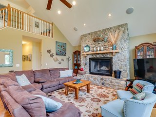 NEW LISTING! Lakefront & dog-friendly home w/dock,  firepit, water toys