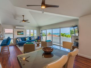 **Special January Pricing** Luxury Kaneohe Home with Ocean Views and Bay Access!