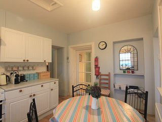 The pretty kitchen, great for cooking up a treat while you're away