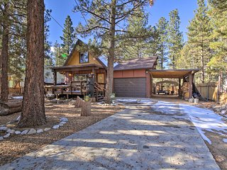 NEW! Big Bear Cabin w/Deck & Grill - By Ski Resort