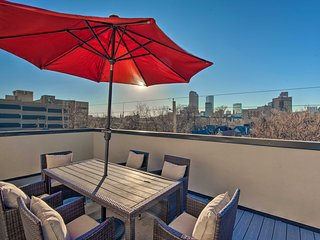 NEW! Denver Townhome-Walk to City Park & Downtown