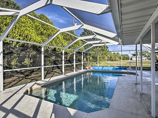 NEW! Tranquil Cape Coral Home w/ Pool and Patio!