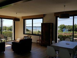 Face et vue mer sur le Golfe du Morbihan - Villa rénovée à neuf en 2018