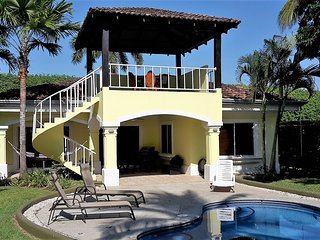 Casa Barracuda on the beach in Playa Hermosa