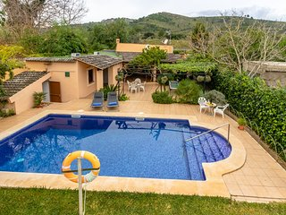 Villa Martin is a traditional Mallorcan finca with breathtaking views of the mou