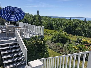 Secluded 4BR on South Bristol's Highest Point, Water Views