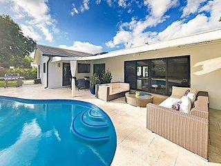 Posh Pompano Beach Home w/ Private Beach Access, Pool