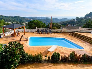 4 bedroom Villa in Sant Cebrià de Vallalta, Catalonia, Spain : ref 5721333