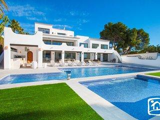 7 bedroom Villa in Moraira, Valencia, Spain : ref 5686926