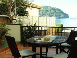 Apartamento a 50 m de la playa, con gran terraza.