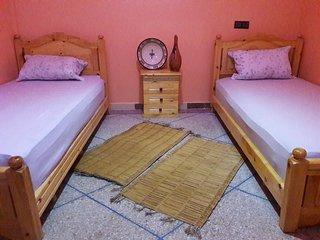 Wave & Garden Eco Surf - Bedroom 2 -Twin Room