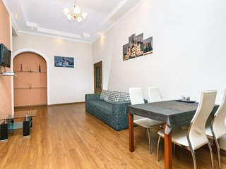 Spacious apartment close to the center of Kiev with Internet, Washing machine, A