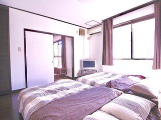 Comfy rooms near Namba, Shinsaibashi