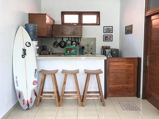 Private house with kitchen, 5 minutes from Uluwatu beach