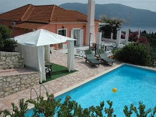 Evreti Villa in picturesque traditional village near Fiscardo