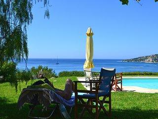 Kefalonia villas: cute 4 bedroom villa with swimming pool, stunning sea view
