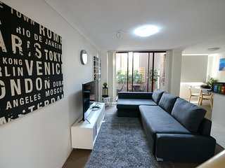 Prime Budget 08  - 2Bedrooms with Balcony - Sydney CBD - Free Parking