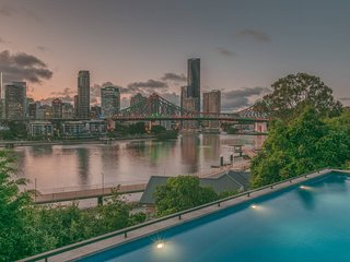 Riverfront in New Farm/Brisbane