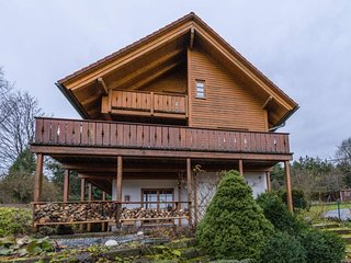Wooden holiday home Oberbrandi Black Forest with Wellness
