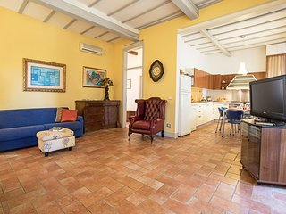 Modigliani, two bedrooms apartment in the Crete Senesi region. Pool, A/C & Wi-Fi