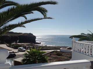 Modern FRONT LINE 1 Bedroom Apartment. Beachfront Callao Salvaje. Sea Views.