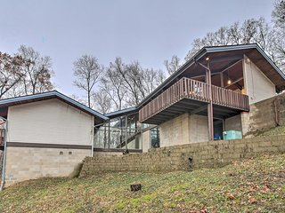 NEW! Unique Plymouth Home w/Stunning Views & Deck!