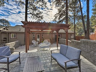 NEW! Flagstaff Home w/ Gazebo - Golf, Ski, Hike!