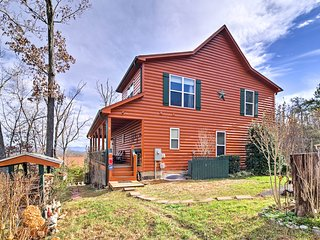 NEW! 'Makin' Memories' Pigeon Forge Area Cabin!