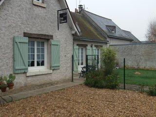 Chambre indépendante équipée avec jardin , pt dj inclus ,pres châteaux de Loire